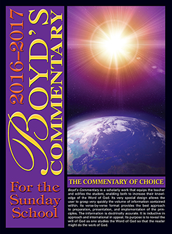 Boyd's Commentary for the Sunday School 2016-2017- eBook (Electronic Version)