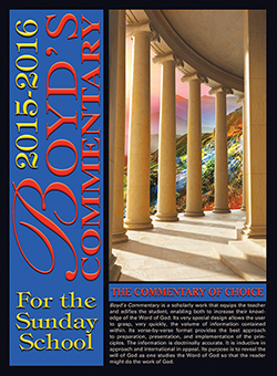 Boyd's Commentary for the Sunday School 2015-2016- eBook (Electronic Version)