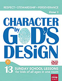 Character By God's Design:  Volume 3