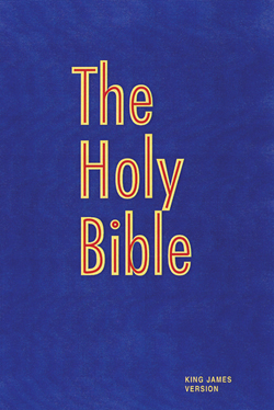 The Holy Bible (Pew Bible-Blue)