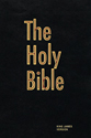 The Holy Bible (Pew Bible-Black)